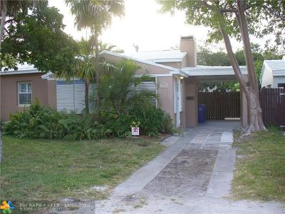 Fort Lauderdale Single Family Home For Sale: 1233 NE 13th Ave