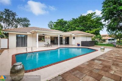 Coral Springs Single Family Home For Sale: 11085 NW 15th St