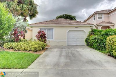 Coral Springs Single Family Home For Sale: 3944 NW 89th Ave