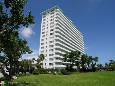 Lauderdale By The Sea Condo/Townhouse For Sale: 4050 N Ocean Dr #1601