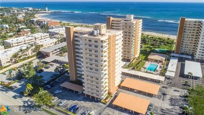 Pompano Beach Condo/Townhouse For Sale: 1630 N Ocean Blvd #1013
