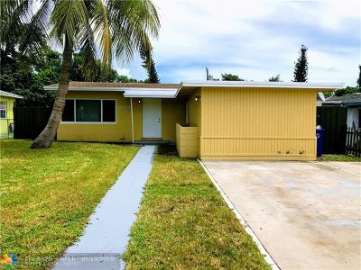 Fort Lauderdale Single Family Home For Sale: 1224 NW 7th Ter