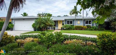 Fort Lauderdale Single Family Home For Sale: 5830 NE 19th Ter