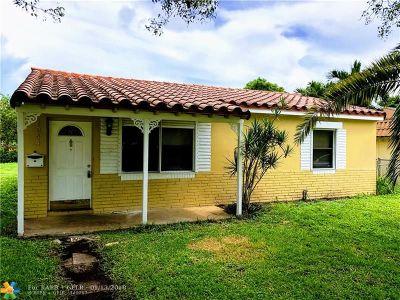 Fort Lauderdale Single Family Home For Sale: 1244 NE 1st Ave