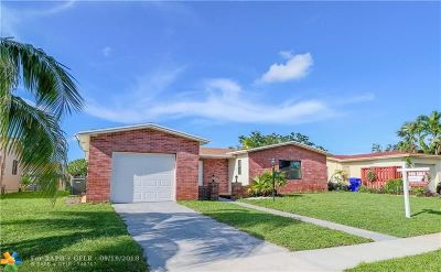 North Lauderdale Single Family Home For Sale: 6331 SW 10th Ct