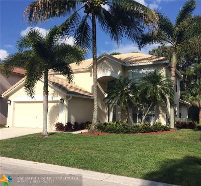 Palm Beach Gardens Single Family Home For Sale: 408 Woodview Cir