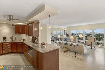 Fort Lauderdale Condo/Townhouse For Sale: 2500 E Las Olas Blvd #1609