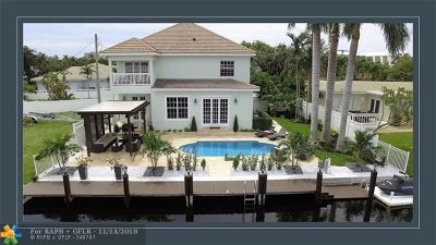 Fort Lauderdale Single Family Home For Sale: 2119 NE 14th Ct