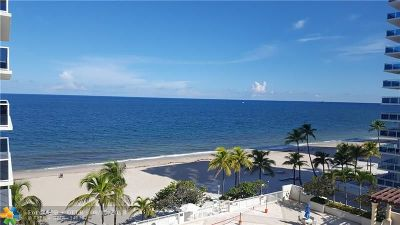 Fort Lauderdale Condo/Townhouse For Sale: 3500 Galt Ocean Dr #502
