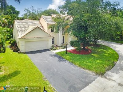 Coral Springs Single Family Home For Sale: 7616 Parkview Way