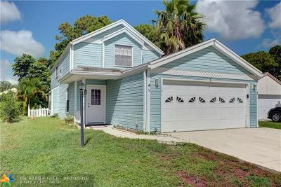 West Palm Beach Single Family Home For Sale: 1397 Sweet William Ln