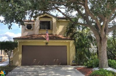 Coconut Creek Single Family Home For Sale: 3521 NW 21st St