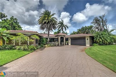 Fort Lauderdale Single Family Home For Sale: 2425 Middle River Dr