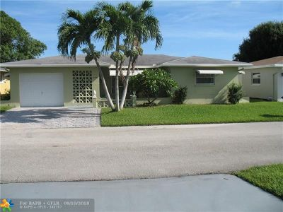 Tamarac Single Family Home For Sale: 4923 NW 58th St