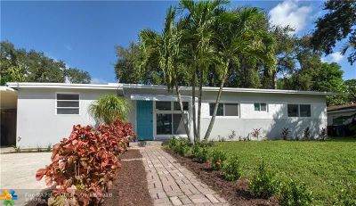 Fort Lauderdale Single Family Home For Sale: 1500 SW 20th Ave