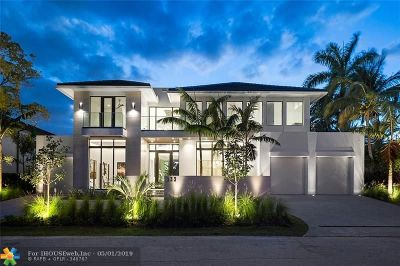 Fort Lauderdale Single Family Home For Sale: 333 Royal Plaza Drive