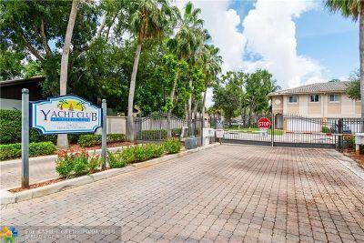 Fort Lauderdale Condo/Townhouse Backup Contract-Call LA: 2714 Treasure Cove Circle #2714
