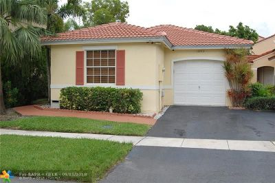 Pembroke Pines Single Family Home For Sale: 17253 NW 6th Ct