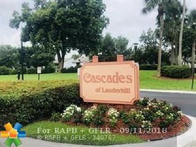 Lauderhill Condo/Townhouse For Sale: 7980 NW 50 St #410