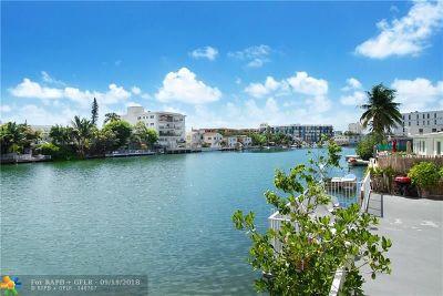 Miami Condo/Townhouse For Sale: 8305 Crespi Blvd #4D