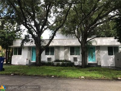 Fort Lauderdale Multi Family Home For Sale: 201 NE 14th Ave