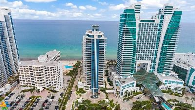 Hollywood Condo/Townhouse For Sale: 3535 S Ocean Dr #605