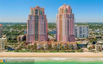 Fort Lauderdale Condo/Townhouse Backup Contract-Call LA: 2110 N Ocean Blvd #5A