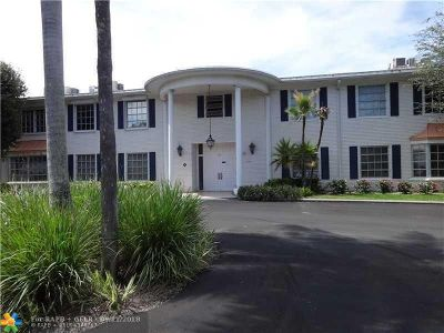 Fort Lauderdale Condo/Townhouse For Sale: 2211 NE 67th St #1106