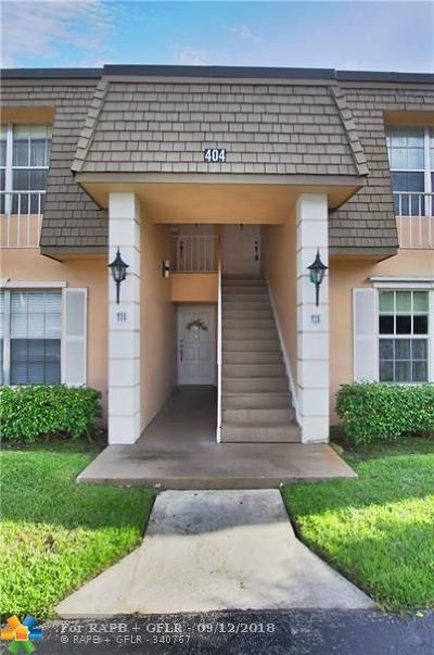 Plantation Condo/Townhouse For Sale: 404 NW 70th Ave #215