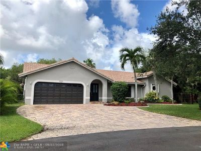 Coconut Creek Single Family Home For Sale: 4905 NW 49th Ave