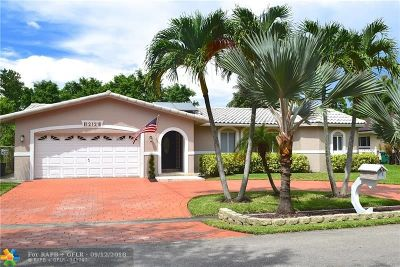 Coral Springs Single Family Home For Sale: 12121 NW 23rd Mnr