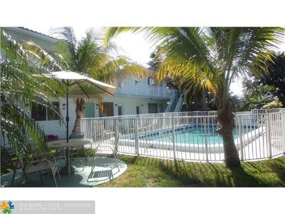 Fort Lauderdale Condo/Townhouse For Sale: 2100 NE 39th St #301