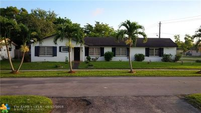 Lauderhill Single Family Home For Sale: 4901 NW 17th Ct