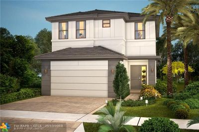 Dania Beach Single Family Home For Sale: 4952 Whispering Way