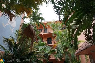 Fort Lauderdale Condo/Townhouse For Sale: 650 Tennis Club Dr #307
