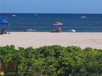 Pompano Beach Condo/Townhouse For Sale: 1500 N Ocean Blvd #302