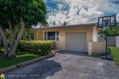 Pompano Beach Single Family Home For Sale: 2331 NE 9th Ave