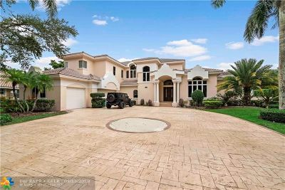 Coral Springs FL Single Family Home For Sale: $975,000