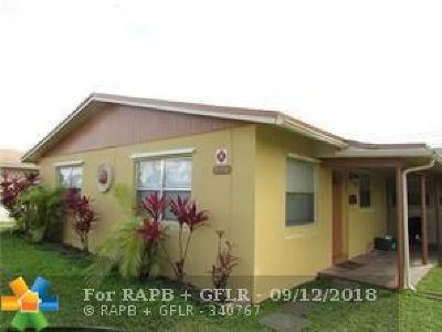 Lauderhill Multi Family Home Backup Contract-Call LA: 1650 NW 52nd Ave