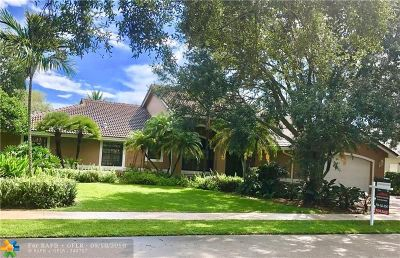 Davie Single Family Home For Sale: 10420 SW 16th Pl
