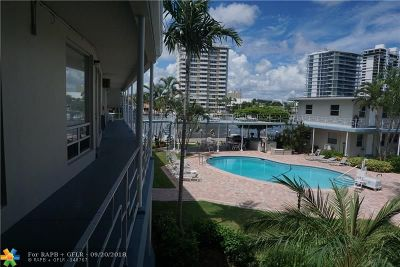 Fort Lauderdale Condo/Townhouse For Sale: 741 Bayshore Dr #25S