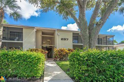Deerfield Beach Condo/Townhouse For Sale: 297 Deer Creek Blvd #1302