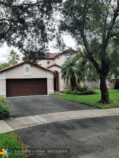 Coconut Creek Single Family Home For Sale: 5130 NW 54th St