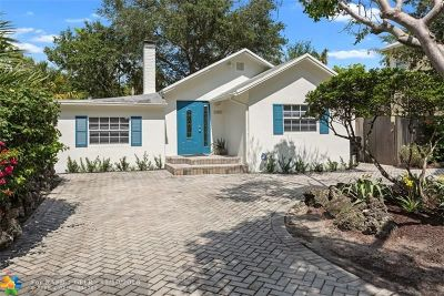 Fort Lauderdale Single Family Home For Sale: 1005 SW 7th St