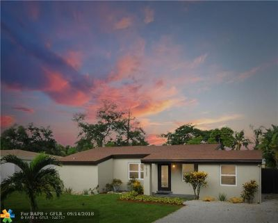 North Miami Beach Single Family Home For Sale: 18380 NE 21st Pl