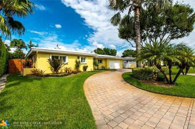 Oakland Park Single Family Home For Sale: 4311 NE 20th Ave