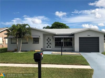 Boca Raton Single Family Home For Sale: 9164 SW 18th Rd