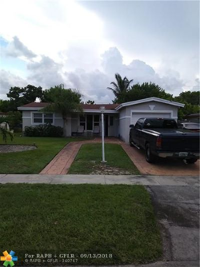 Lauderdale Lakes Single Family Home For Sale: 3491 NW 39 Avenue
