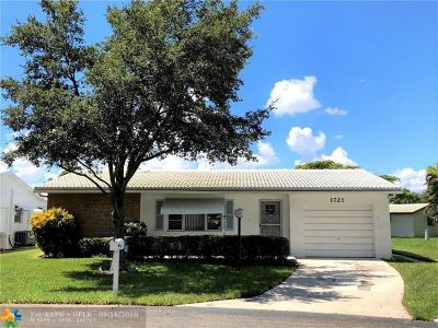 Plantation Single Family Home For Sale: 1721 NW 86th Ave