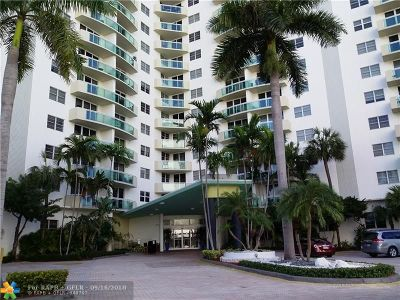 Hollywood Condo/Townhouse For Sale: 3001 S Ocean Dr #839